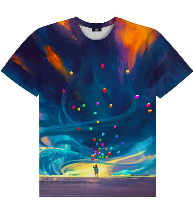 T-shirt Colorful Balloons Miniatury 1