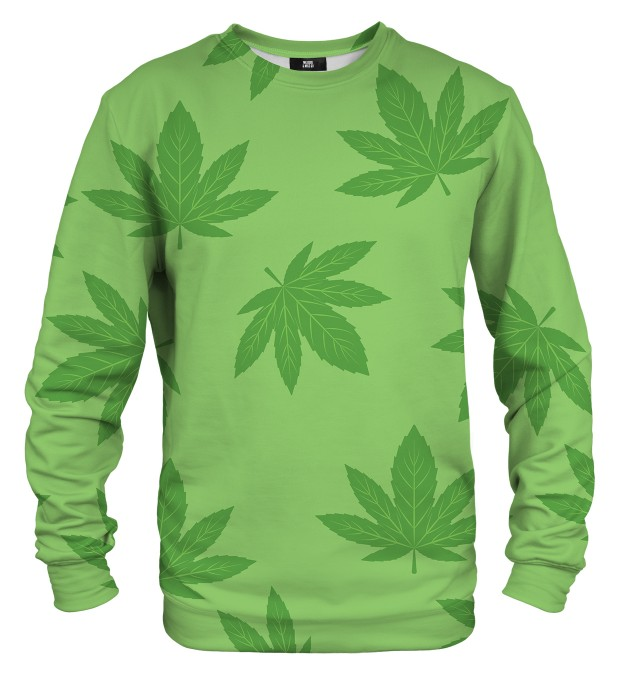 marijuana Leaves sweatshirt Miniaturbild 1