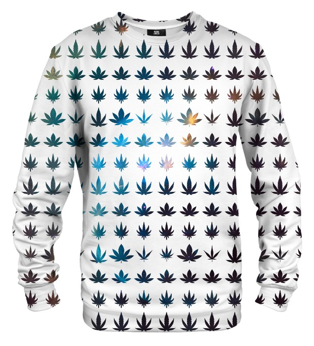 Weed constellation sweater Miniatura 1