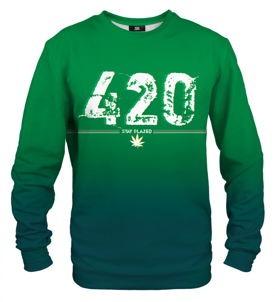 Mr. Gugu & Miss Go, Stay Blazed sweater Image $i