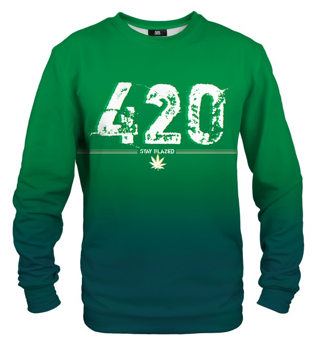 Stay Blazed sweater Thumbnail 1