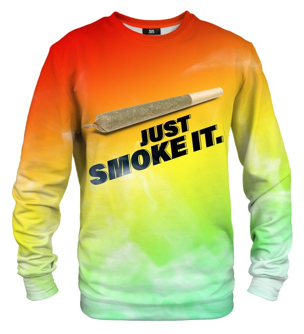 Just Smoke It sweater Miniature 1