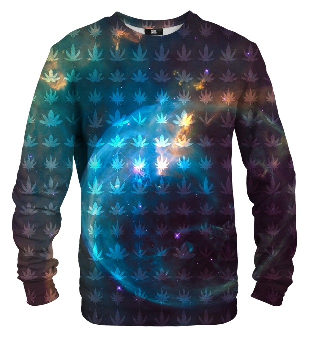 Galaxy Ganja sweater Miniature 1