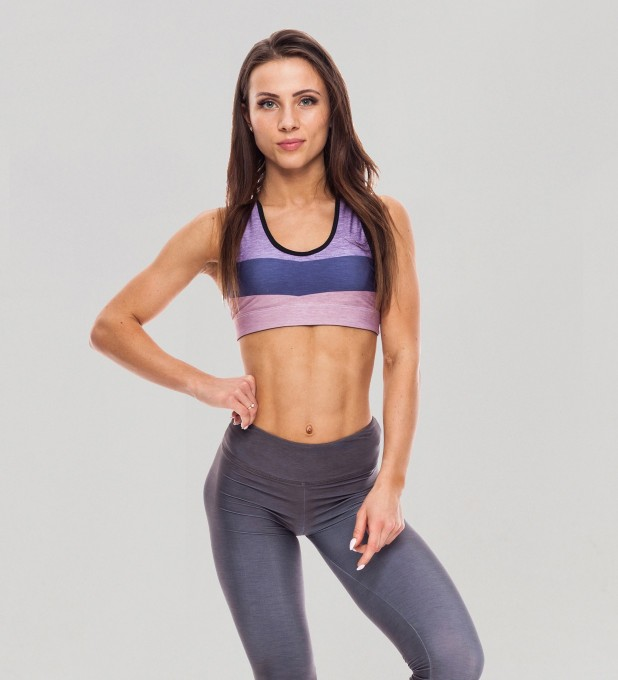 Tricolor Lilac Chiffon Pastel Crop top аватар 1
