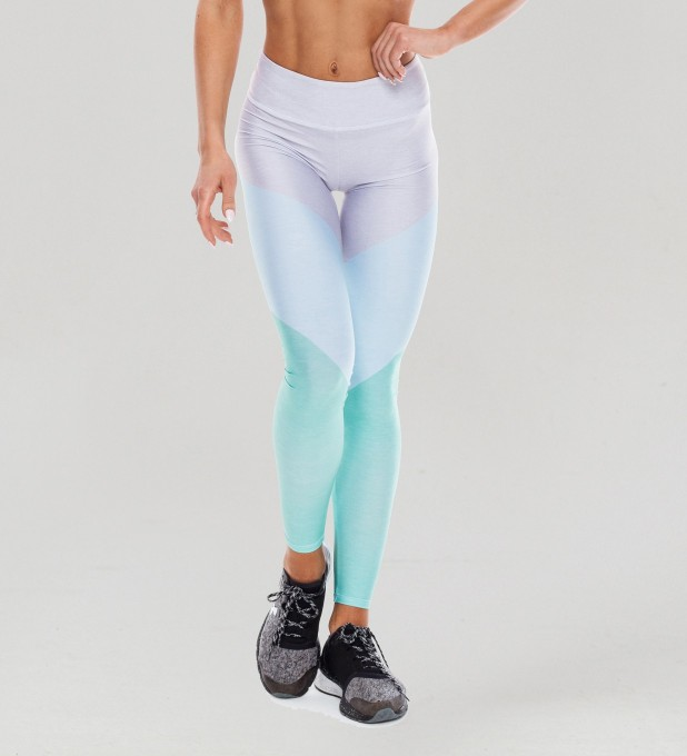 Tricolor Cloud Dancer Pastel Leggings Miniature 1