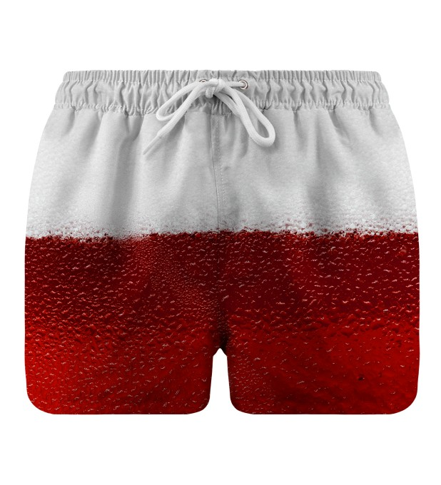 Red Beer swim shorts Thumbnail 1