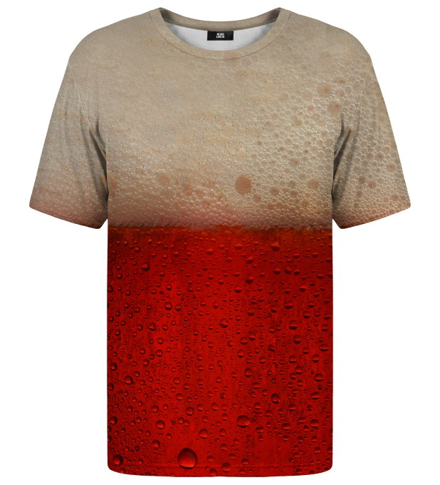 Red Beer t-shirt Miniatura 1