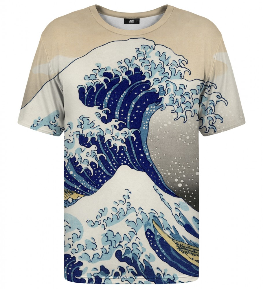 Mr. Gugu & Miss Go, Kanagawa Wave t-shirt Immagine $i