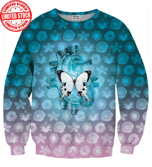 White Butterfly sweater Thumbnail 1