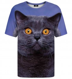 Mr. Gugu & Miss Go, British cat t-shirt Thumbnail $i