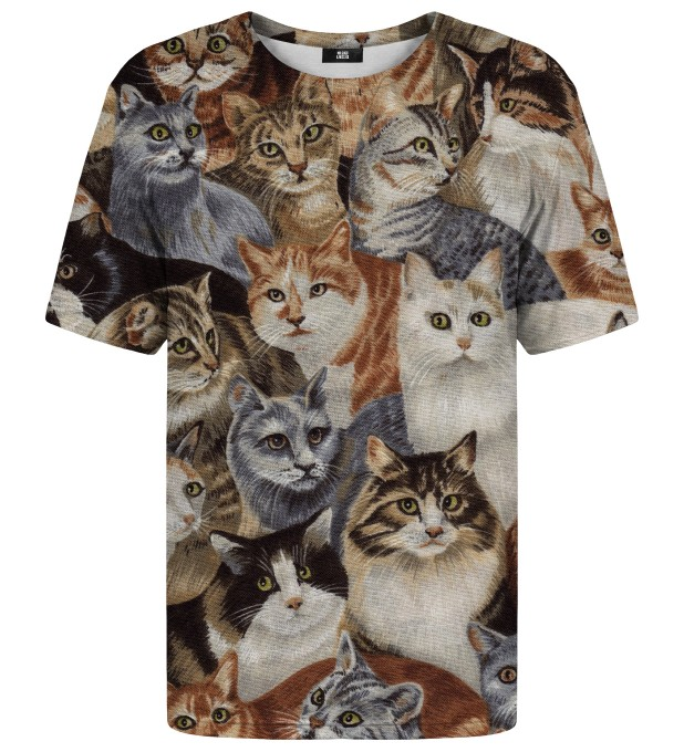 Cats t-shirt Miniatura 1