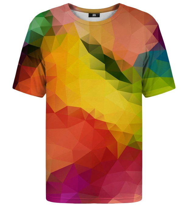 T-shirt Colorful Geometric Miniatury 1