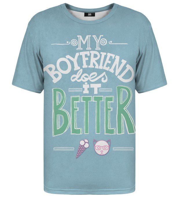 My Boyfriend t-shirt Miniature 1