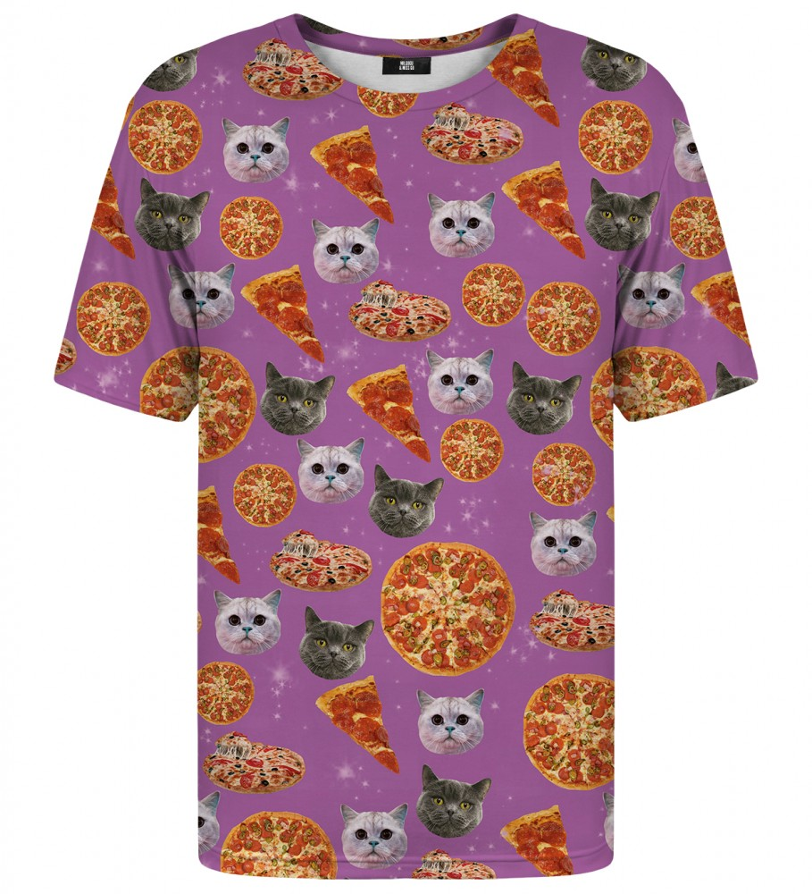 Mr. Gugu & Miss Go, Pizzacat t-shirt Image $i