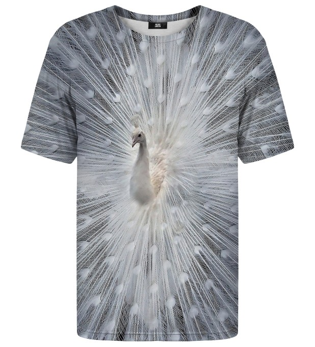 White Peacock t-shirt Thumbnail 1