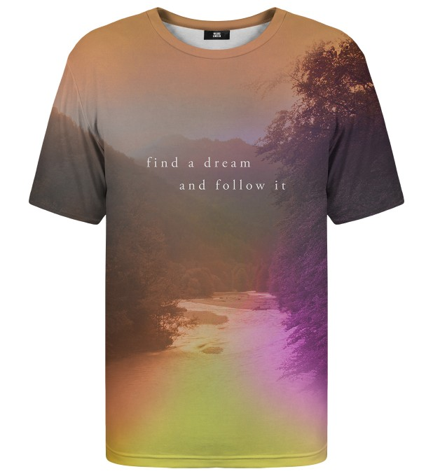Follow the dream t-shirt Thumbnail 1
