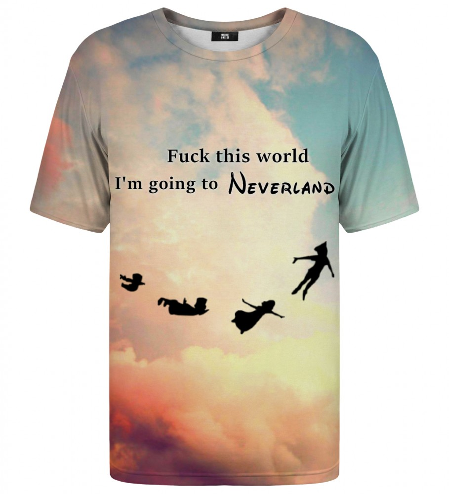 Mr. Gugu & Miss Go, I'm going to neverland t-shirt Foto $i