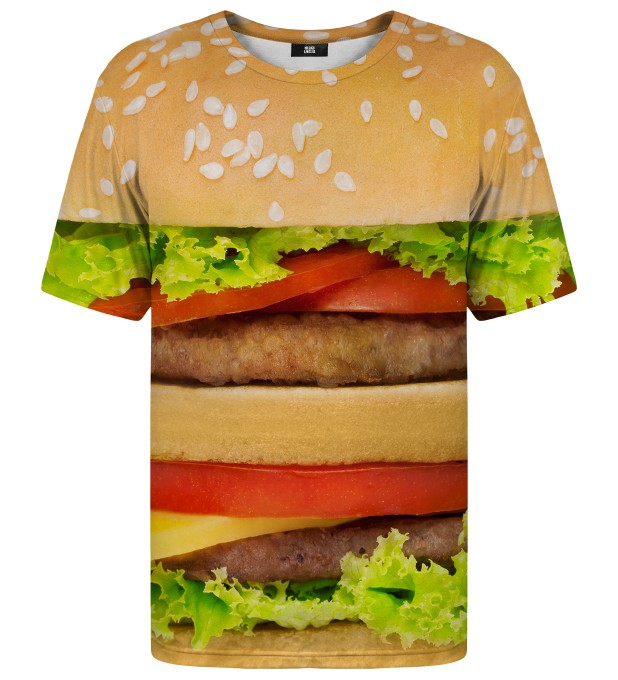 Hamburger t-shirt Miniature 1