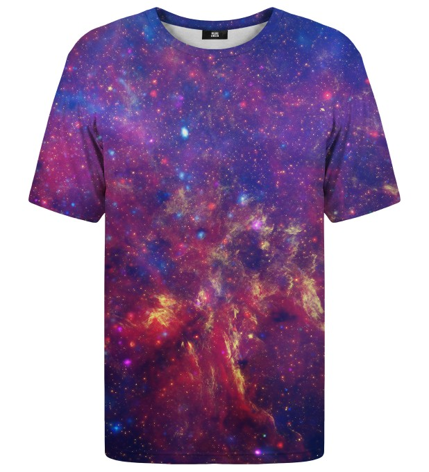 Purple Nebula t-shirt Miniatura 1