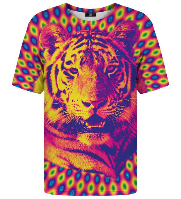 Crazy Tiger t-shirt Miniature 1