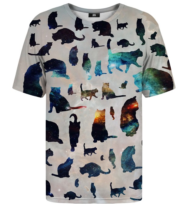 Galaxy Cats t-shirt Miniatura 1