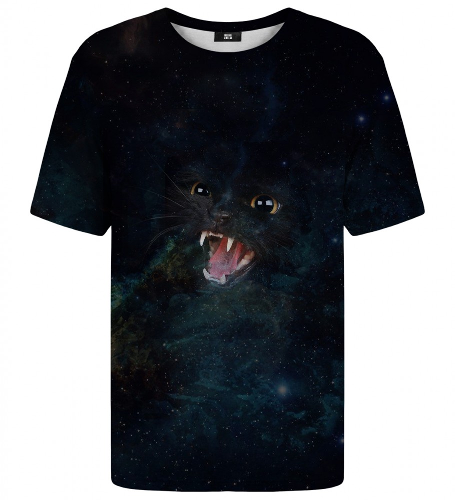 Mr. Gugu & Miss Go, Wild Galaxy Cat t-shirt Image $i