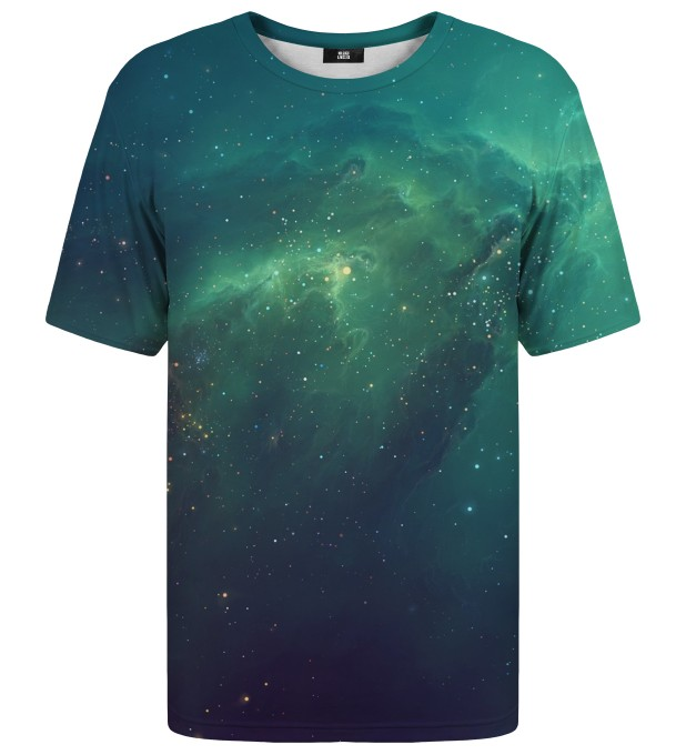 Blue Nebula t-shirt Miniature 1