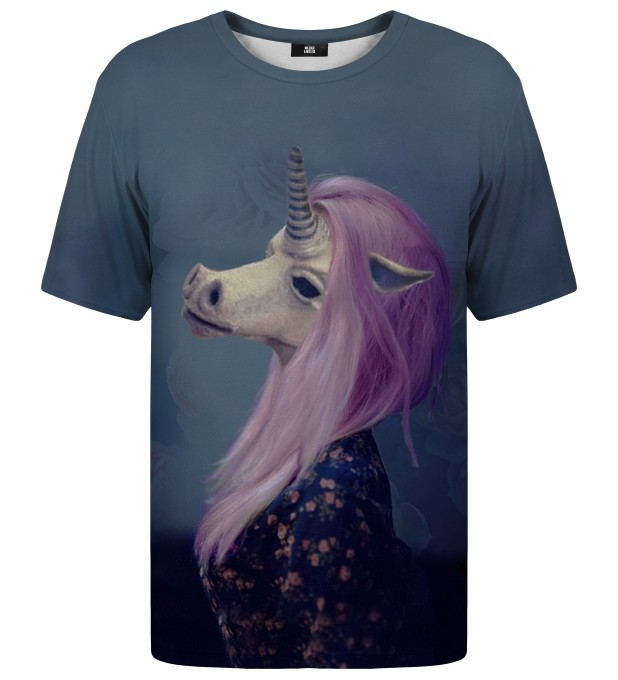Creepy Unicorn t-shirt Thumbnail 1