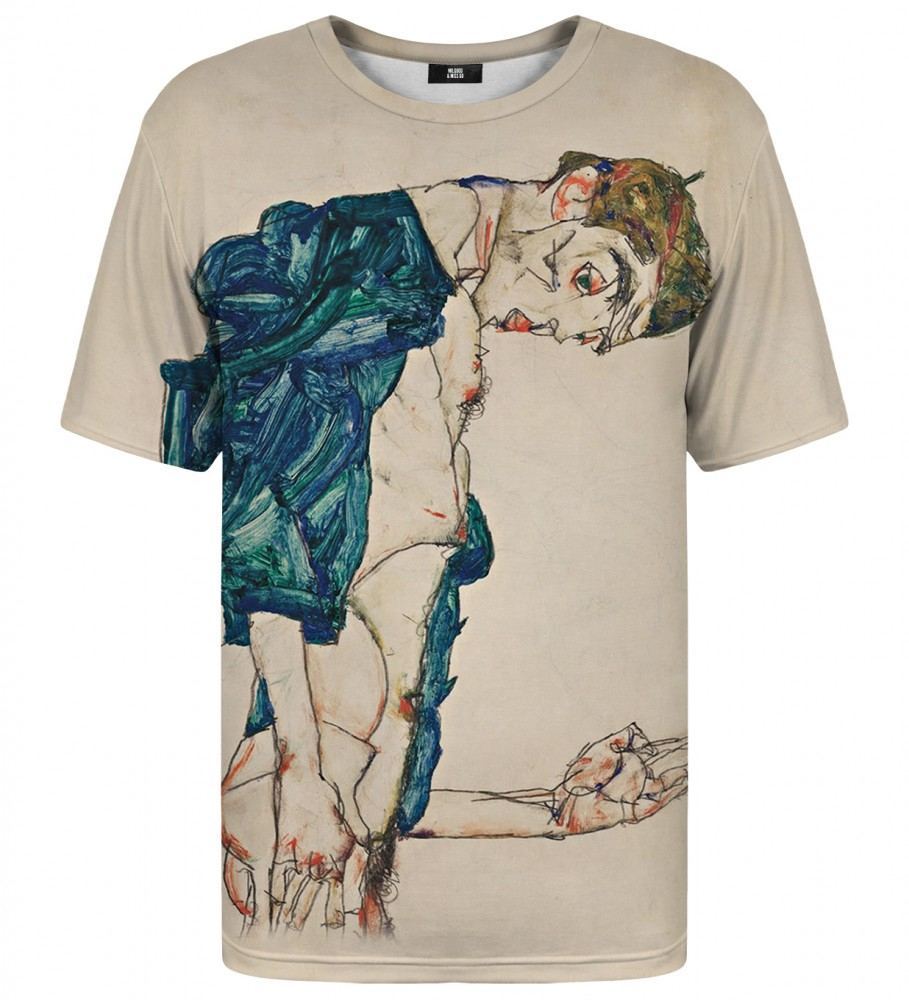 Shirt with naked man