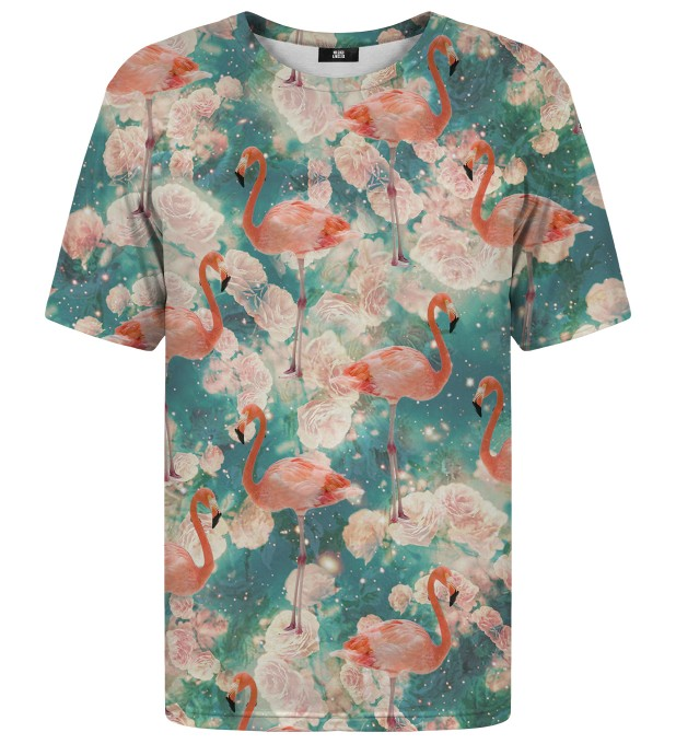 Flamingos t-shirt Miniature 1