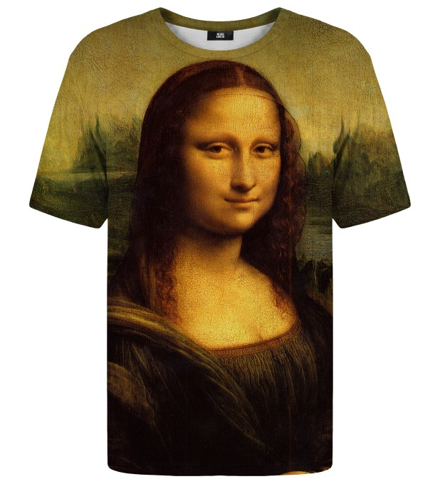 Mona Lisa t-shirt Miniature 1