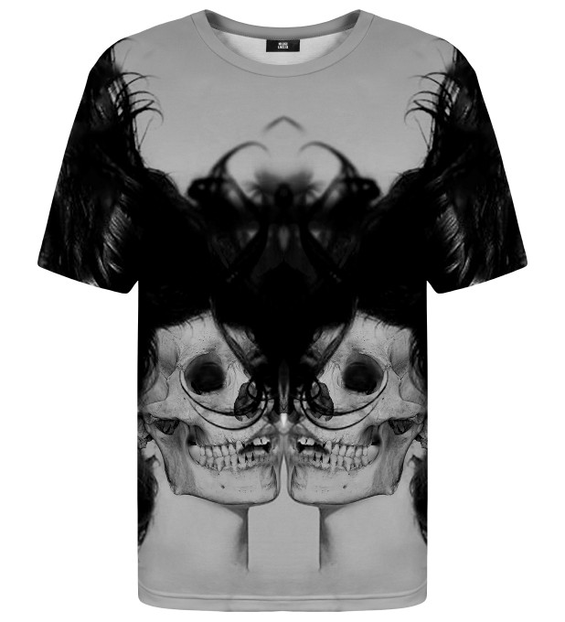 Black Skull Girl Net t-shirt Thumbnail 1