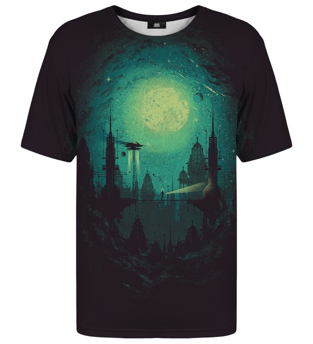 Futuristic City t-shirt Thumbnail 1
