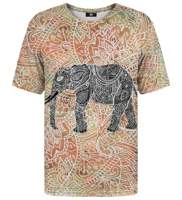 T-shirt ze wzorem Indian Elephant Miniatury 1