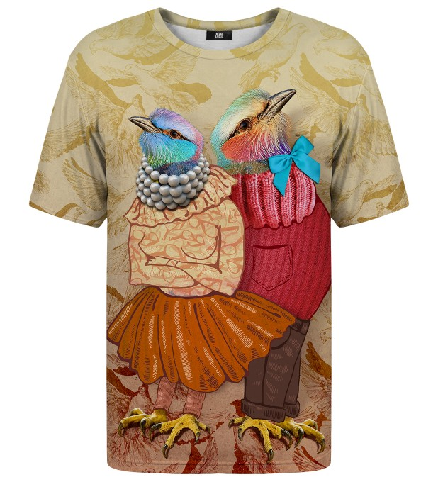 Love Birds (No Font) t-shirt Miniature 1