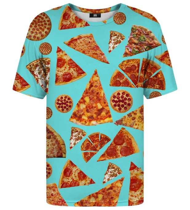 Pizza t-shirt Thumbnail 1