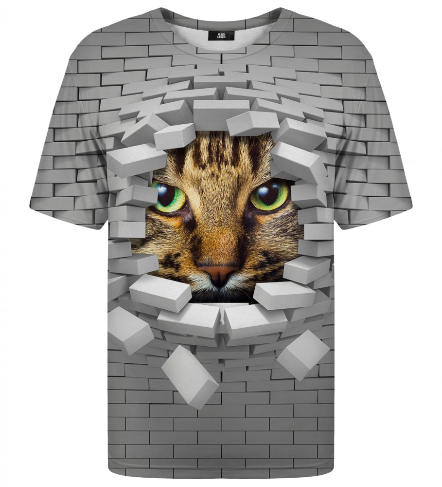 Mr. Gugu & Miss Go, Cat Wall t-shirt Image $i