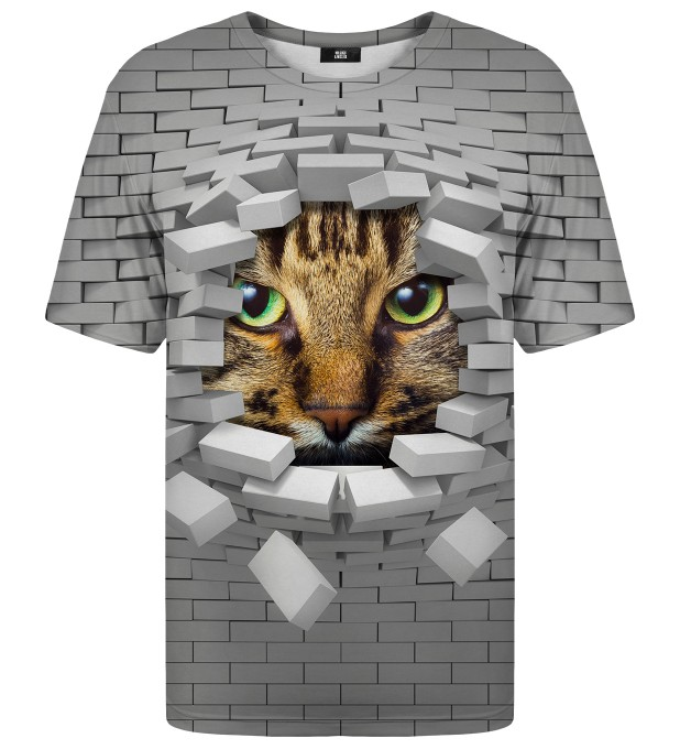 Cat Wall t-shirt Thumbnail 1