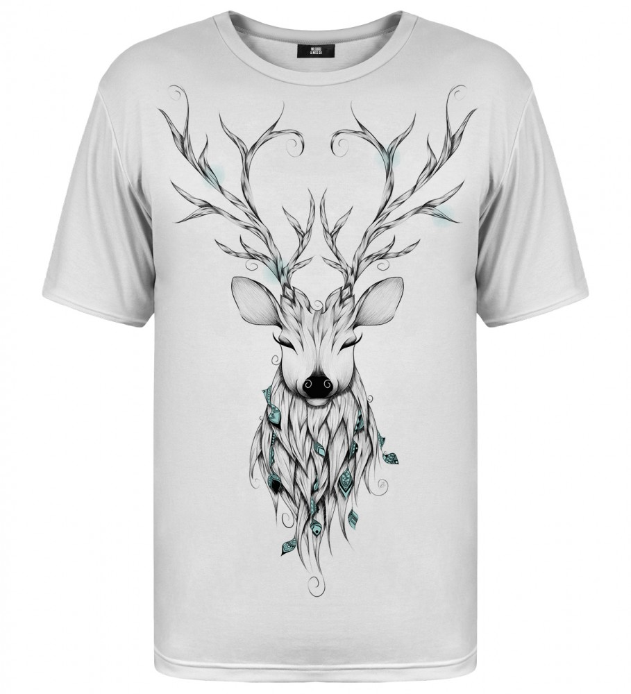 Deer sketch t shirt
