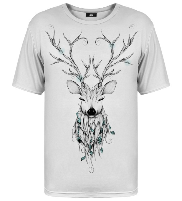 Deer sketch t-shirt Miniaturbild 1