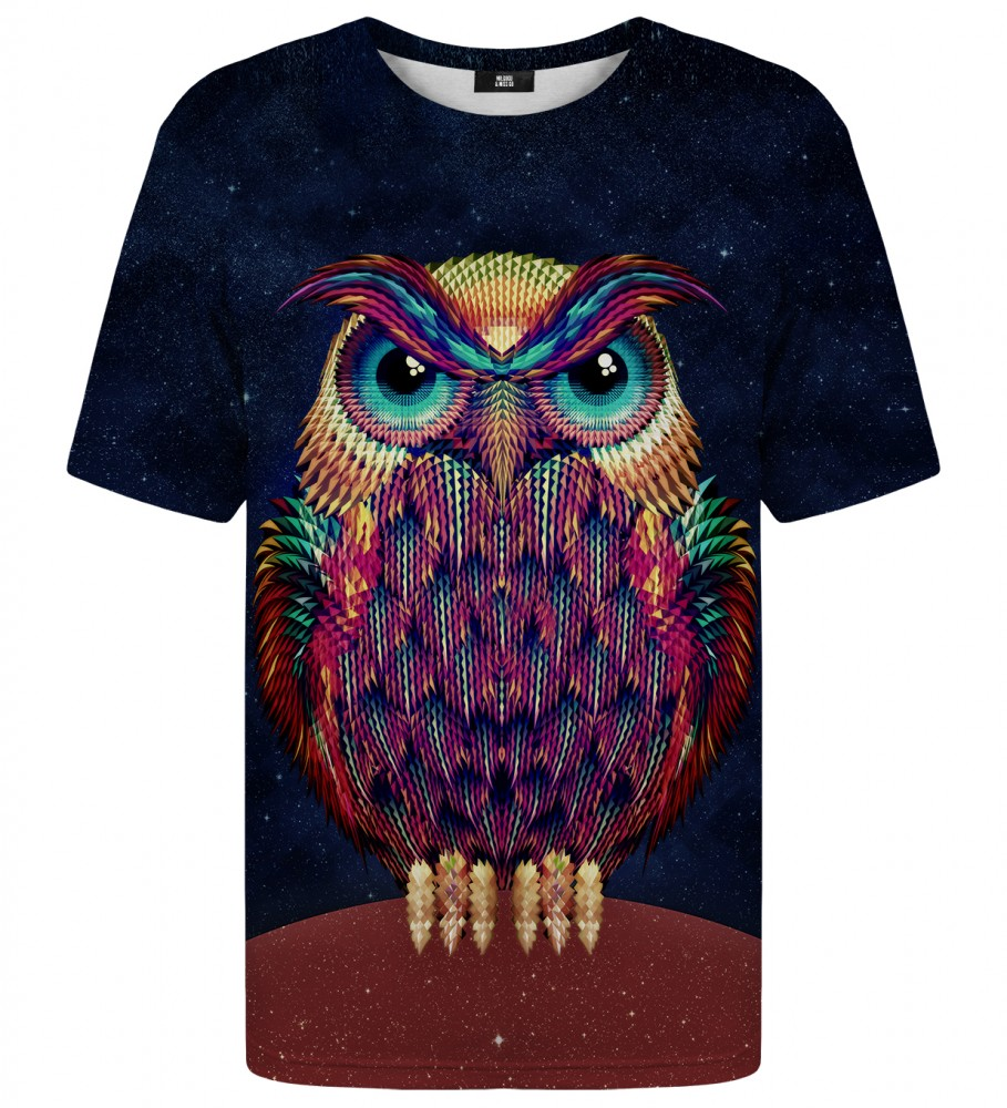 Mr. Gugu & Miss Go, Space Owl t-shirt Image $i