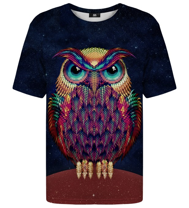 Space Owl t-shirt Thumbnail 1