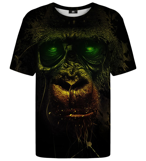 Dark Chimpanzee t-shirt Thumbnail 1