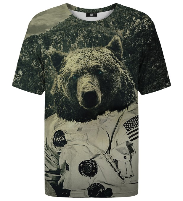 Nasa Bear t-shirt Miniature 1