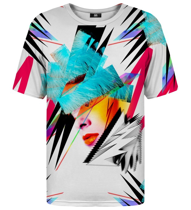Pop-art Face t-shirt Miniatura 1