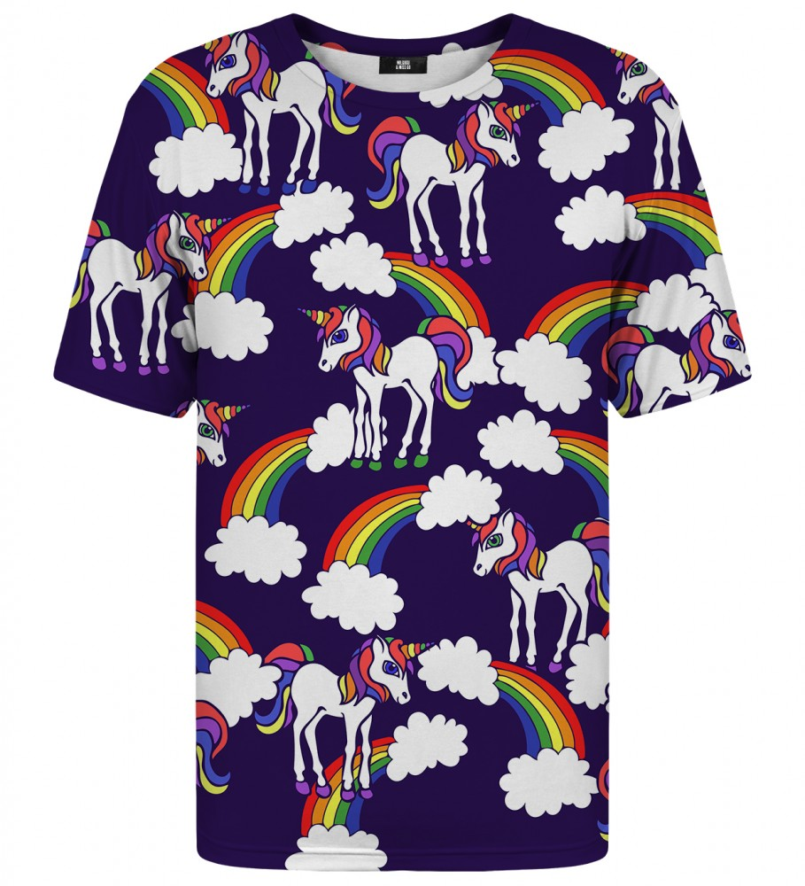 Mr. Gugu & Miss Go, Rainbow Unicorns t-shirt Image $i