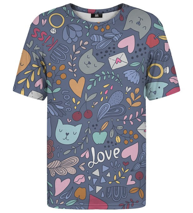 Romantic Cats t-shirt Miniatura 1
