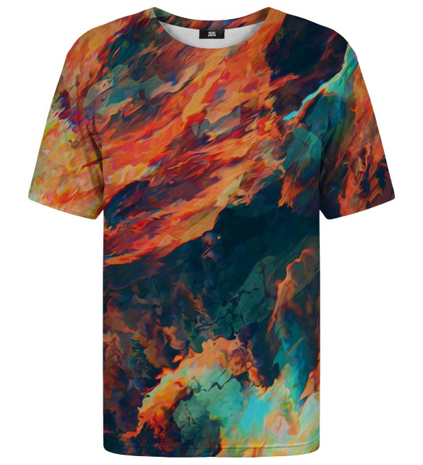 T-Shirt Sky is burning Miniatury 1