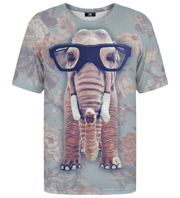 Hip Elephant Net t-shirt Miniatura 1