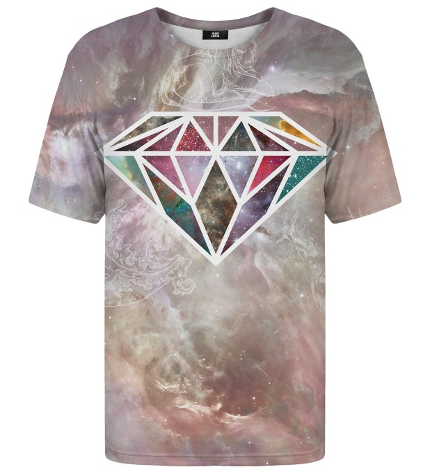 T-shirt ze wzorem Colorful Diamond Miniatury 1